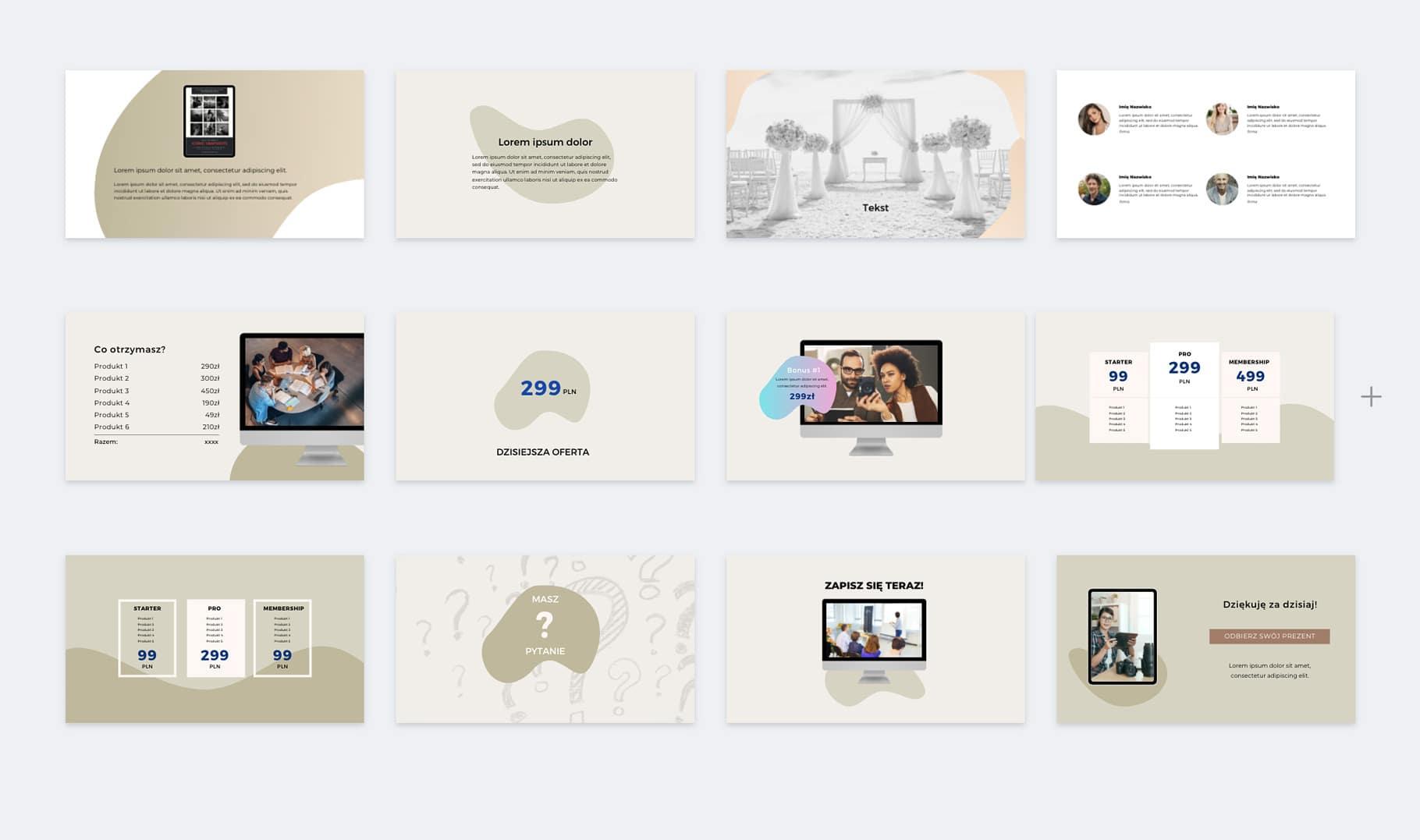 prezentacja slajdy