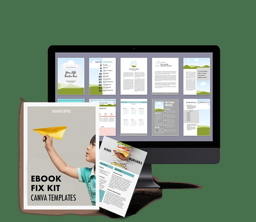 ebook canva szablony